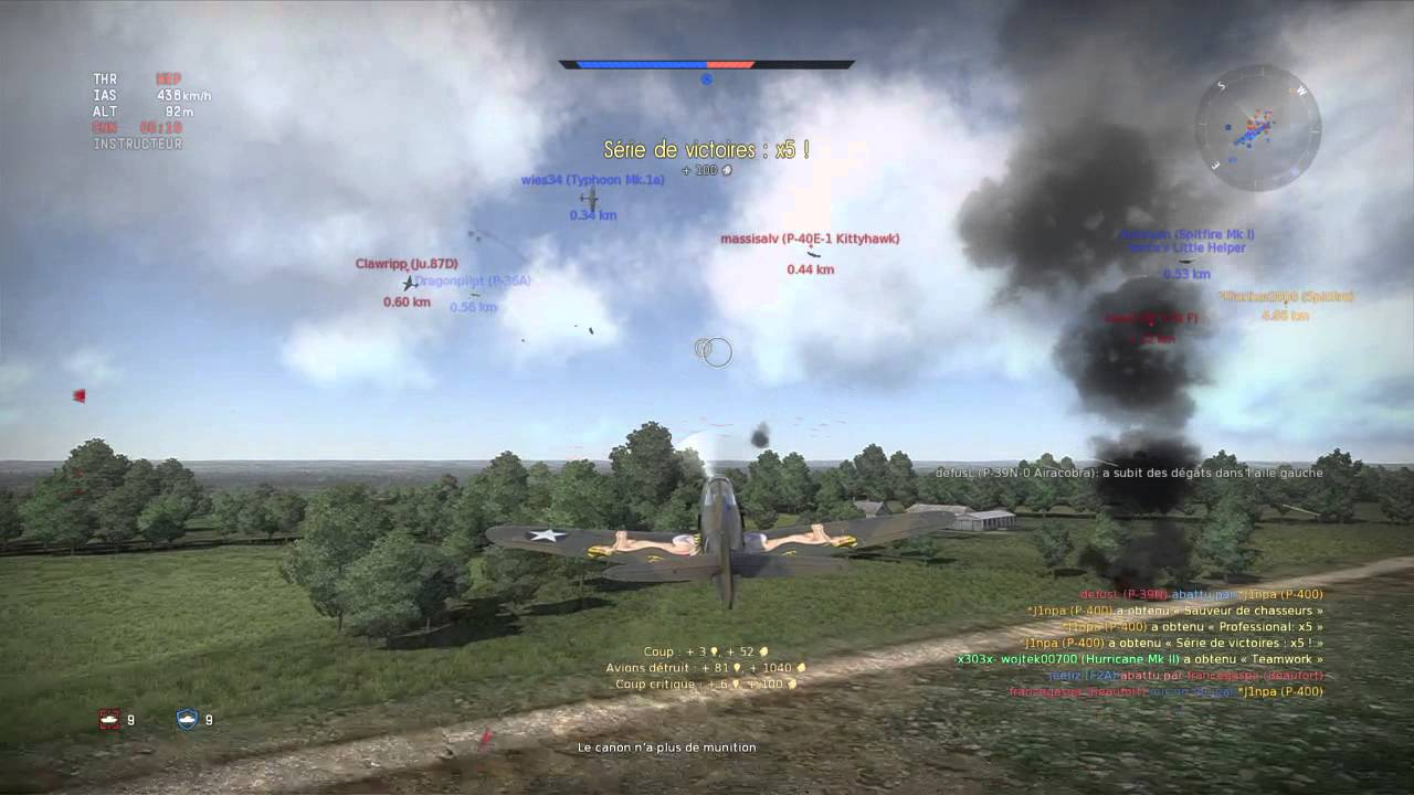 War Thunder J1npa arcade battle