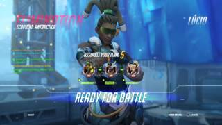 Overwatch (Clutch and fails) Lesbian squad w/DubstepGamer64 & Aughn27 | Dubstep Gamer64