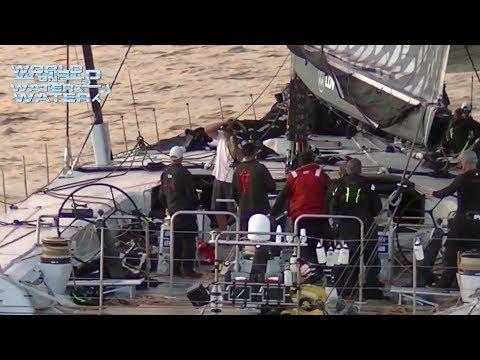 World on Water TV Global Sailing News December 29 17 Volvo, Hobart Start & Finish, crash Gybing more