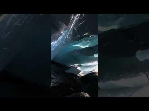 Красота ледника Алибек