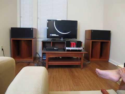 klipsch lascala ii over the raindow youtube. Black Bedroom Furniture Sets. Home Design Ideas