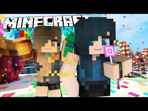 EAT MY CHURRO! | Minecraft Adventures - Candyland #1 (Minecraft Roleplay)