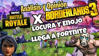 La folie et la colère arrivent à Fortnite Borderlands New Skin and Zone (Opinion/Analyse)NotiSaurio