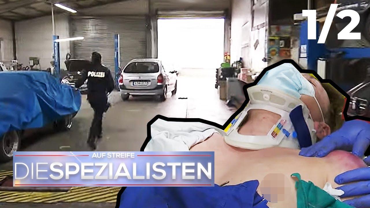 Falschgeld, Flucht & Fehltritt: Bandenverbrechen in der Werkstatt ?   1/2   Die Spezialisten   SAT.1