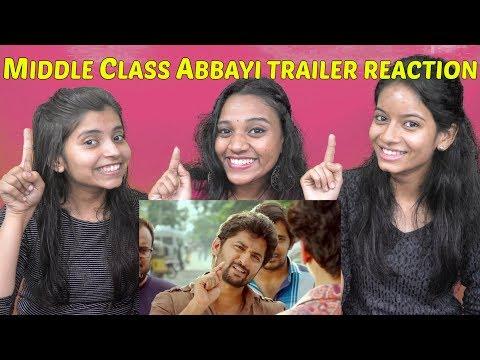 MCA (Middle Class Abbayi) TRAILER Reaction...