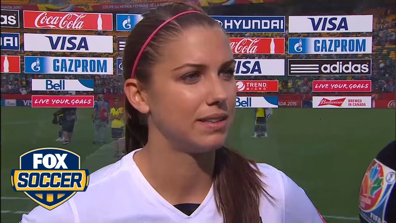 Alex Morgans Goal Helps USWNT Advance FIFA Womens World Cup 2015