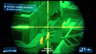 Battlefield 3: Night Shift - Recon Scout Story Campaign HD Gameplay Playstation 3