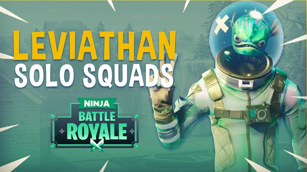 Leviathan Solo Squads Fortnite Battle Royale Gameplay Ninja