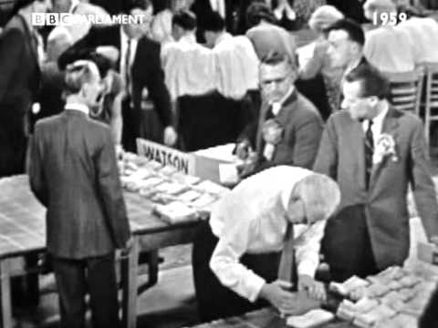 BBC 1959 General Election Coverage Part 1