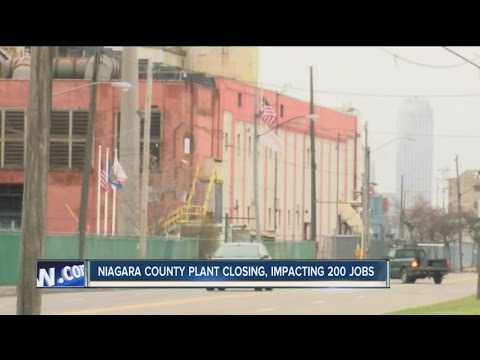 Niagara County plant closing, impacting 200 jobs