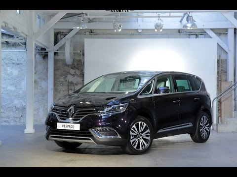 d couverte du nouveau renault espace youtube. Black Bedroom Furniture Sets. Home Design Ideas