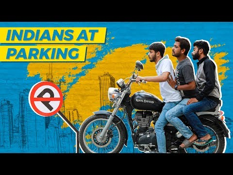 Indians At Parking    WittyFeed