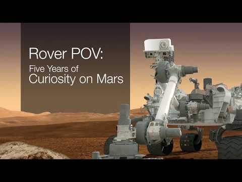 5 Years Of Roving Mars In 5 Minutes  Amazing Time Lapse Video