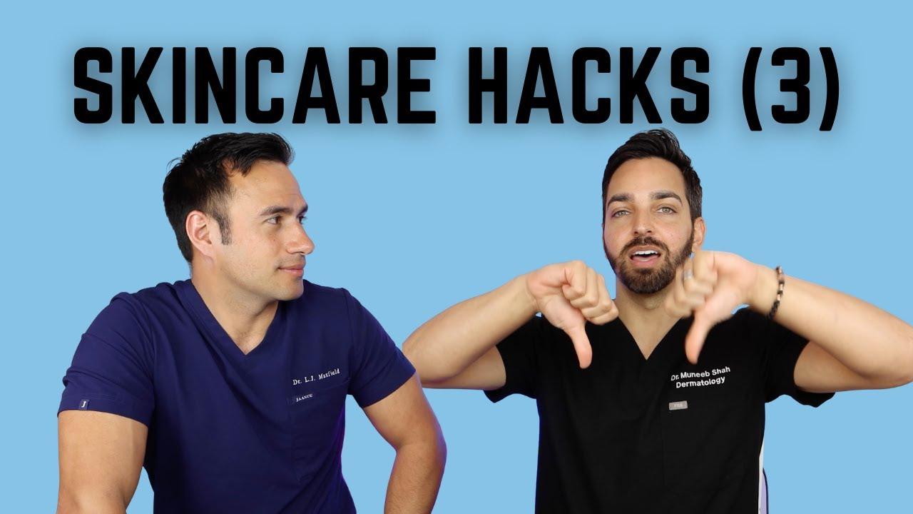 RATING SKINCARE HACKS 3: Hyaluronic, Retinol, Ibuprofen, Sandpaper Shaving