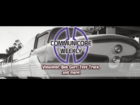 Communicore Weekly - Viewliner with Bob Gurr, Disneyland: The First Quarter Century, Test Track