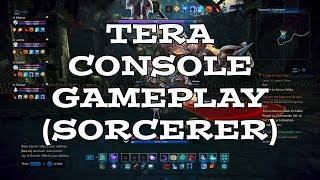 TERA Console Gameplay - Sorcerer POV - PS4