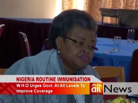 W H O ON NIGERIA ROUTINE IMMUNISATION