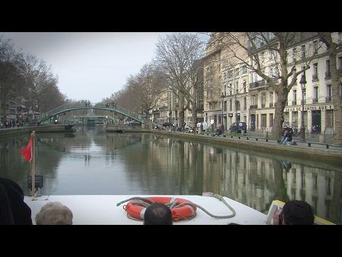 Cruise The Saint-Martin Canal - Paris France