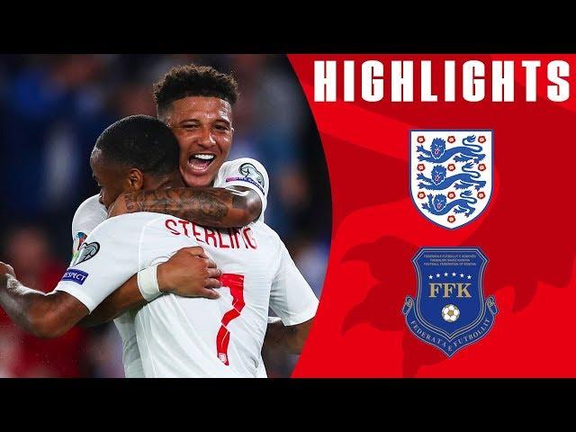England 5-3 Kosovo   Sancho Bags First International Brace!   Euro 2020 Qualifiers   England