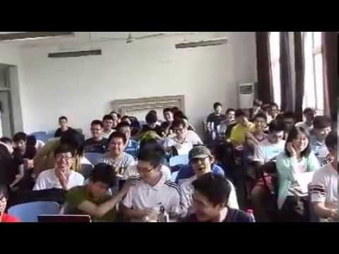 A day in College in China