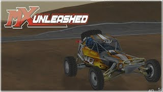 MX Unleashed Freestyle Career Mode Xbox One Gameplay Walkthrough Part 5 - Dune Buggy Race!