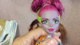 eBay thrift haul part 1 monster high Barbies and a flava Doll