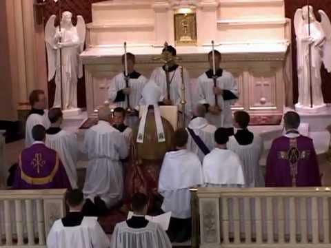 St. Rose Altar Consecration - Part I - Purification of Altars