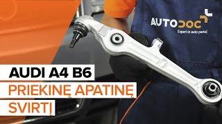 Montavimo Spyruoklės videoinstrukcija AUDI A4