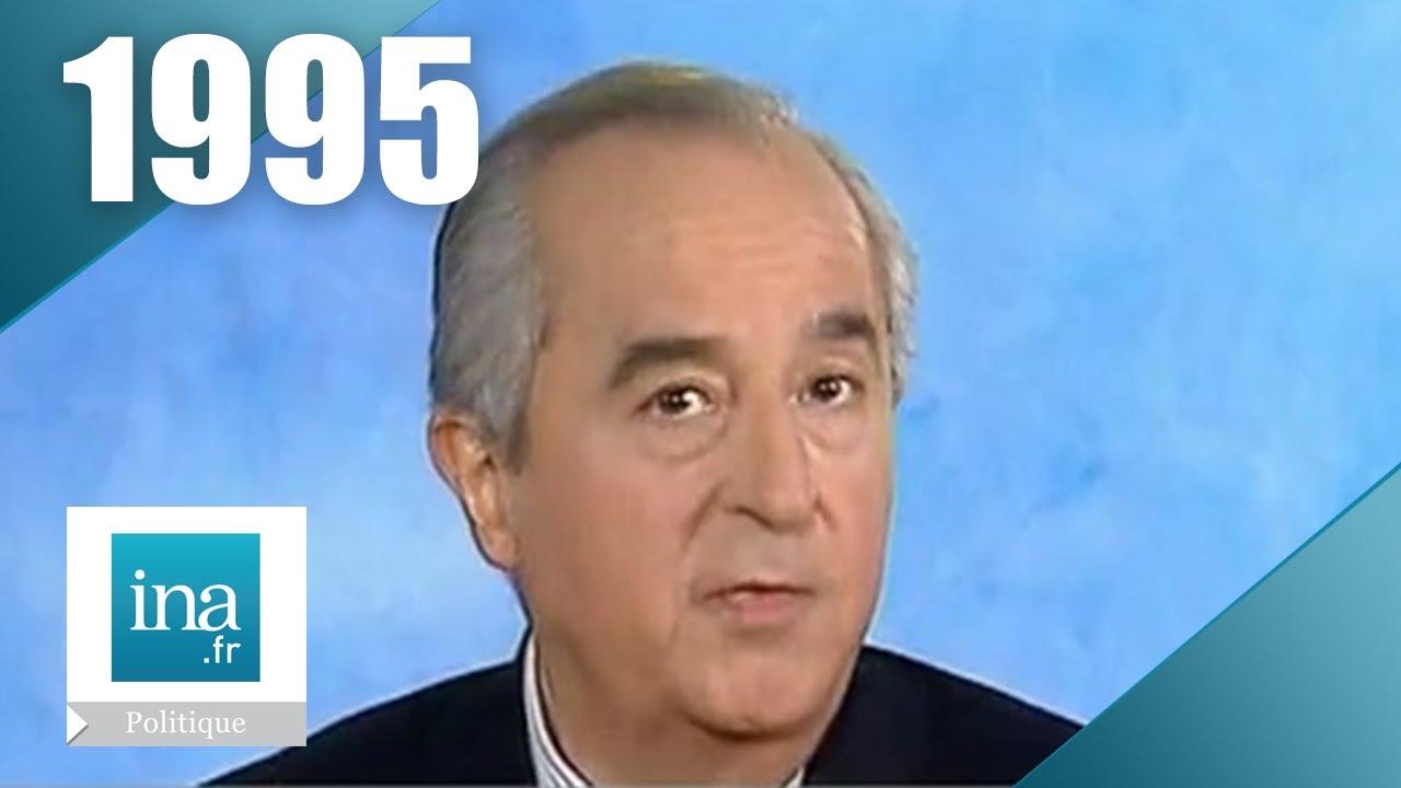 Edouard Balladur Campagne Presidentielle 1995 Archive Ina Youtube