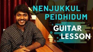 How to play Nenjukkul Peidhidum | Part 2 | Nalone Pongenu | Chords | Strumming | Easy | Full Song