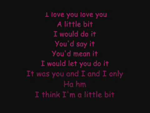 a little bit lyrics- Drake and Lyyke Li