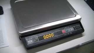 видео Масса МК-С, счетные весы