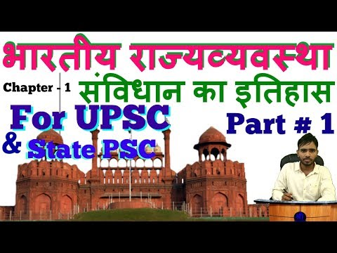 Indian polity in Hindi for upsc | indian constitution for upsc , state psc & all Government exam