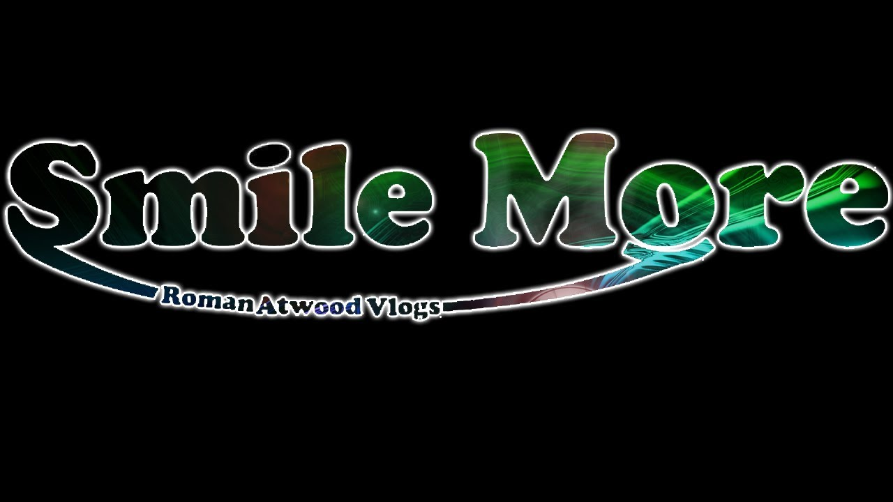 smile more logo roman atwood in mincraft youtube