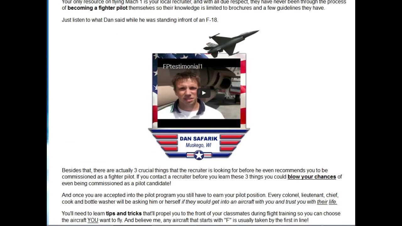 bc3968c37d0e4 Fighter Pilot Training Course Review - Learn How to Become a Fighter ...