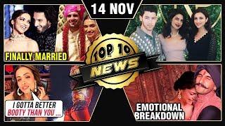 Deepika Ranveer Married, Sonam Kapoor On METOO, Malaika On Beyonce & More   Top 10 News