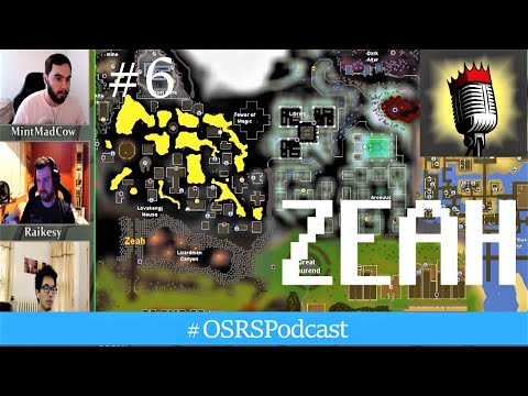 Massive Zeah Update (New Hydra Boss and Farming Guild) - OSRS Podcast #6