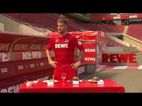 Burger-Verköstigung beim 1. FC Köln