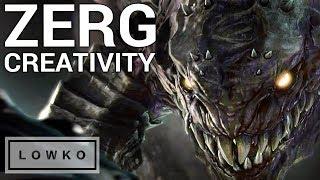 StarCraft 2: AWESOME ZERG CREATIVITY!