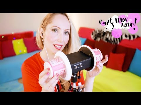 ASMR ♡ 3 Dio ear cupping with paper cups/Tapping - Scratching on paper cups/Whispers French accent