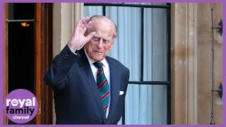 Prince Philip Makes Rare Public Appearance as He Hands Over Military Role