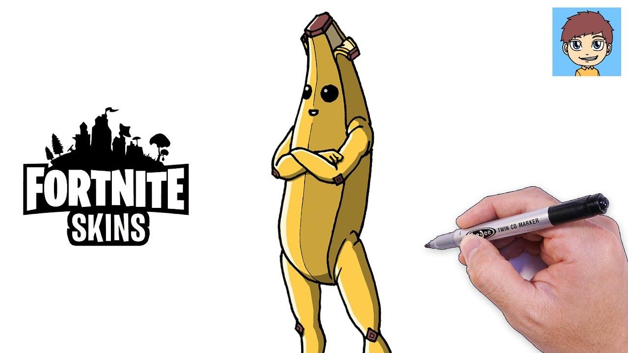Dessin Fortnite Banane Facile Fortnite Generator Skins Free