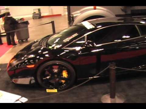 Lamborghini Gallardo With Custom Painted Wheels Brakes Youtube