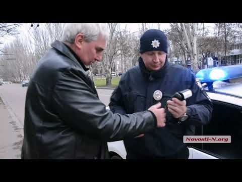Видео 'Новости-N': Бывший зам николаевского губернатора попался в центре Николаеве на нарушении ПДД