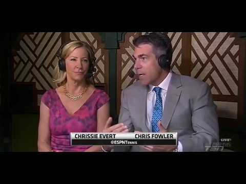 Chris Evert Discusses Genie Bouchard