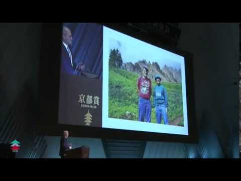 Witten's public talk at the Kyoto Prize ceremony