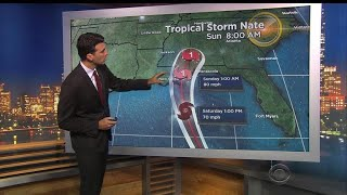 Deadly Tropical Storm Nate heading for U.S. Gulf Coast