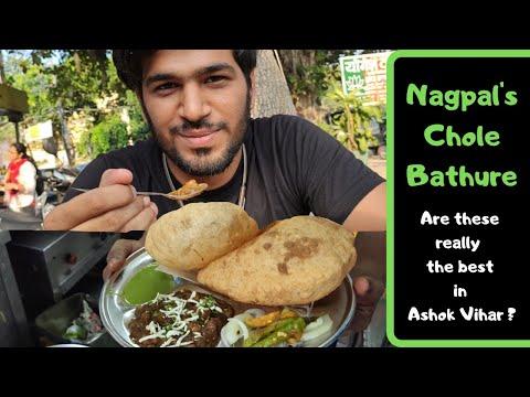 Nagpal Chole Bathure | Ashok Vihar Phase - 2 | Palak Paneer Rice | Eat Street
