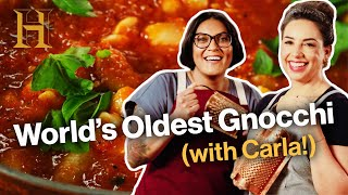 Sohla Makes Medieval Gnocchi (with Carla Lalli Music!)  Ancient Recipes With Sohla