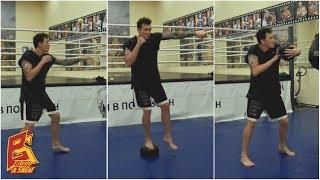 Три эффективных упражнения на технику и силу удара. Дмитрий Суродеев.